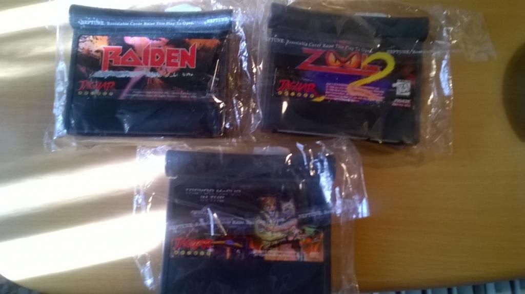 Lote Juegos Atari Jaguar 100 Originales Pal Usa Raiden Zool 2