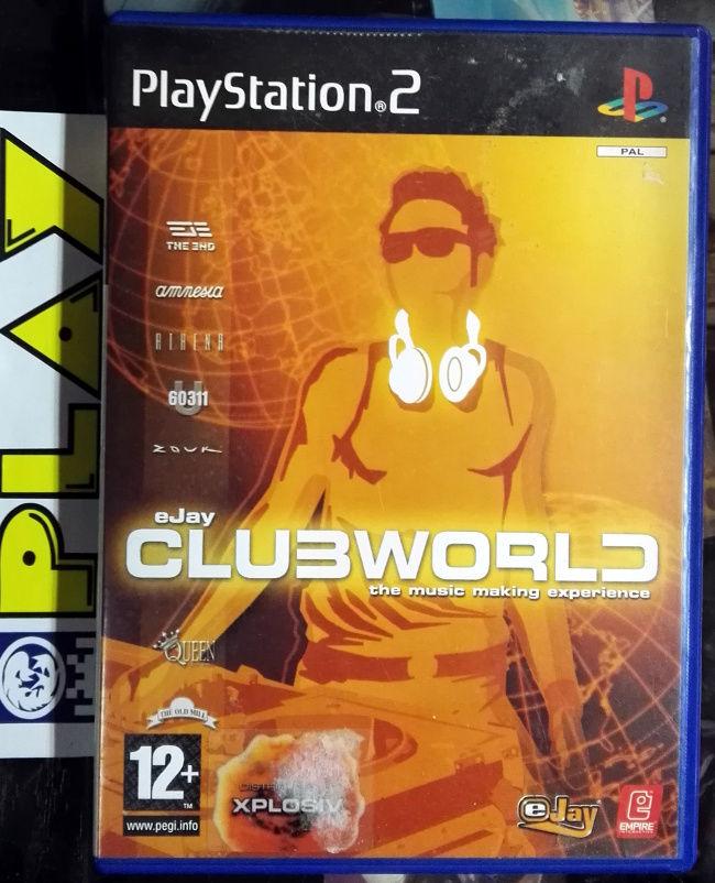 ᐅ GAMIMBO - eJAY CLUB WORLD PAL ESPAÑA PS2 PLAYSTATION 2 ENVIO