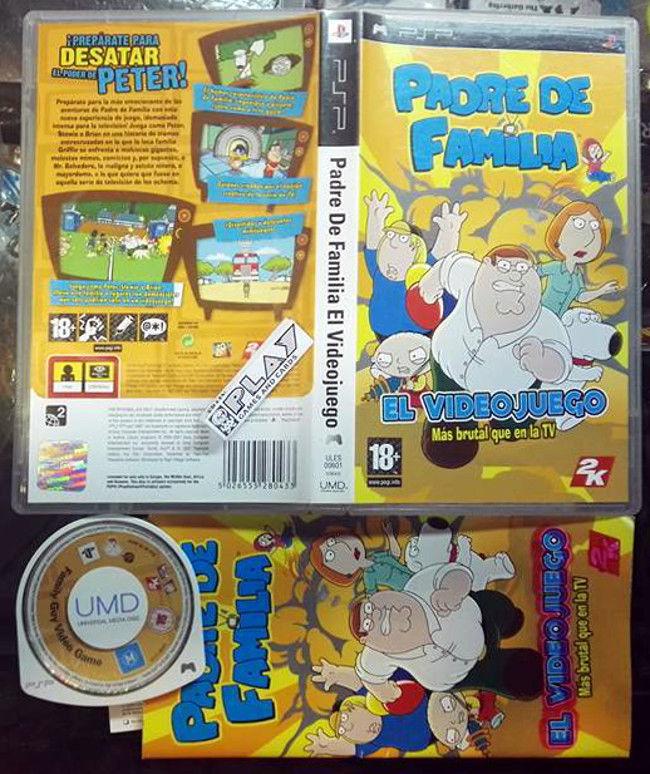 Padre De Familia El Videojuego Pal Espana Family Guy The Video Game