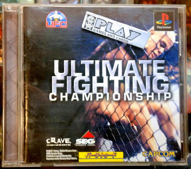 Ultimate Fighting Championship Dreamcast: ULTIMATE FIGHTING CHAMPIONSHIP NTSC JAPAN