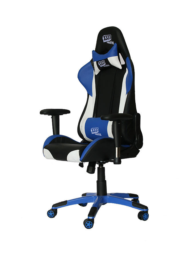 Silla 1337 industries gc777 bl azul para sillas gaming - Game sillas gaming ...