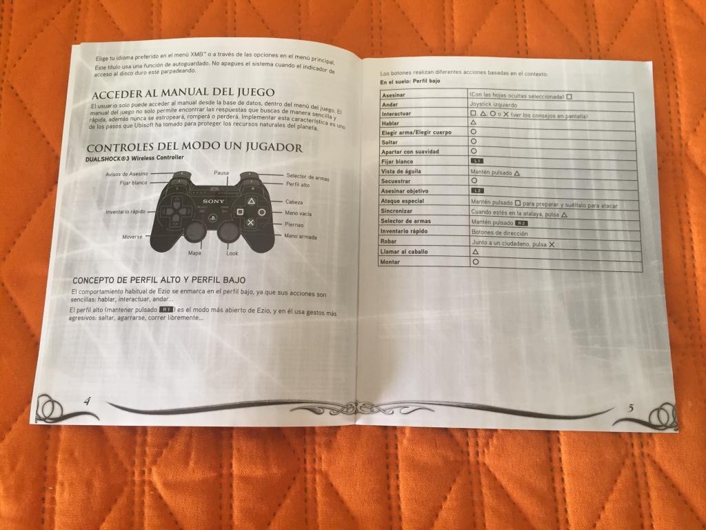 assassins creed la hermandad manual de instrucciones playstation 3 rh gamimbo com PlayStation 3 Owners Manual manual de usuario playstation 3 super slim